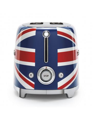 Toster na 2 kromki SMEG flaga brytyjska TSF01UJEU