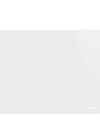 Płyta indukcyjna multizone Smeg Białe szkło SI2M7643DW