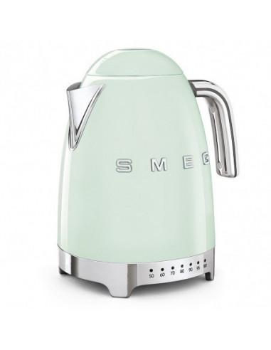 Czajnik elektryczny z regulacją temperatury Smeg Pastelowa zieleń KLF04PGEU