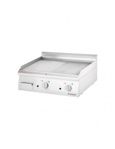 Płyta grillowa elektryczna, gładka, 8.1 kW