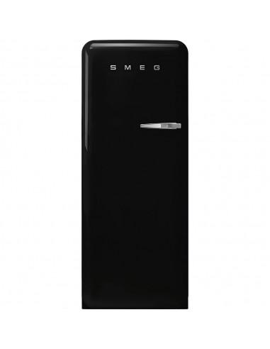 Chłodziarko - zamrażarka stylizowana na lata 50 Czarny (chromowany uchwyt) Smeg FAB28LBL5